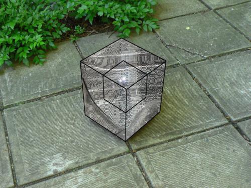 Cube de verre. 2010